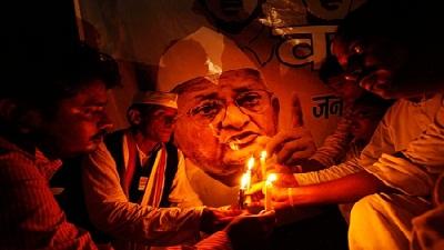 anna hazare movement summary