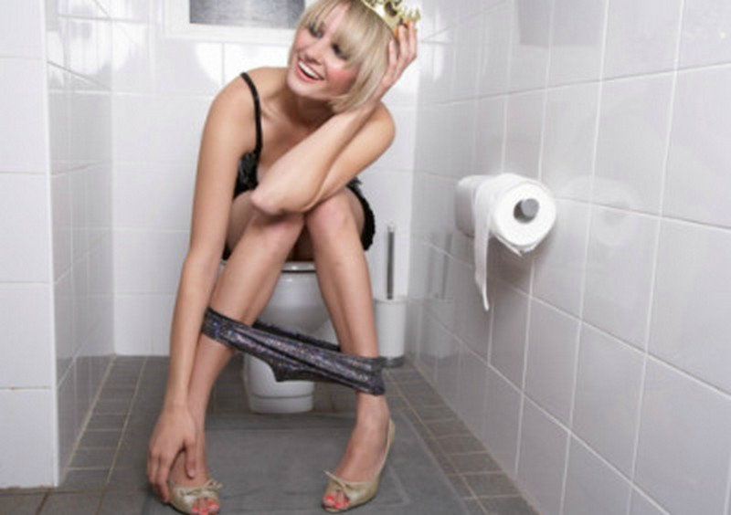 """This is the photo that accompanied The Times Of India story on """"Weird, funny facts about women."""""""