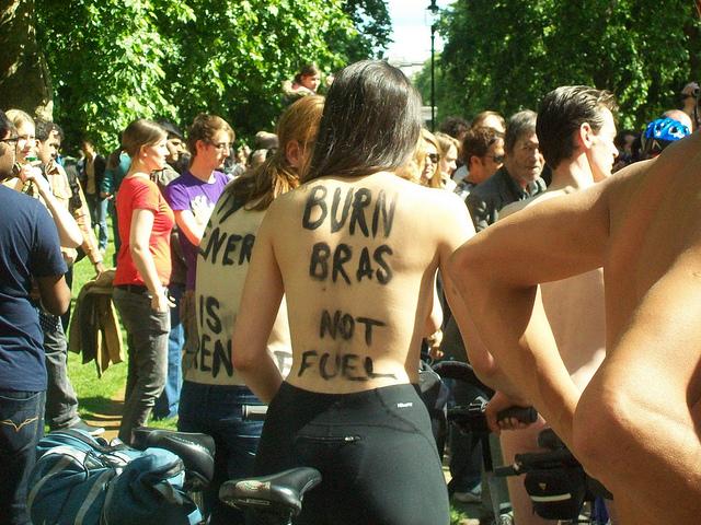 bra-protest feminism