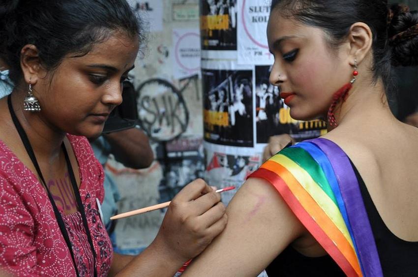 Picture from Slutwalk Kolkata 2013