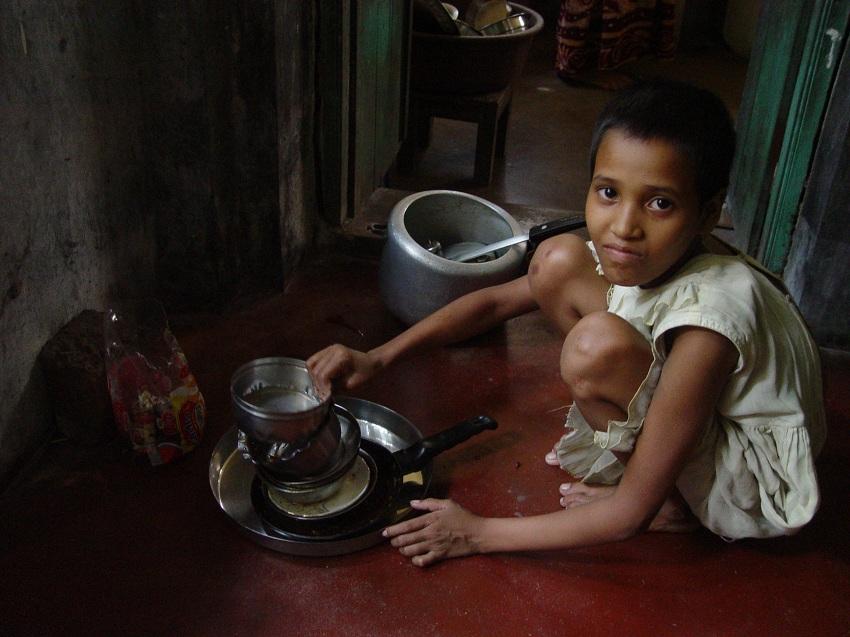 domestic child labour india