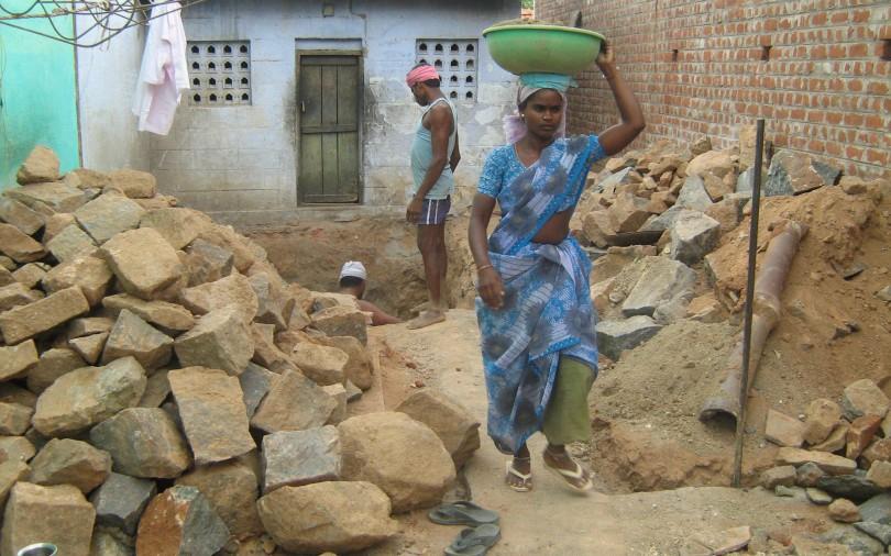 ConstructionLABOUR-India