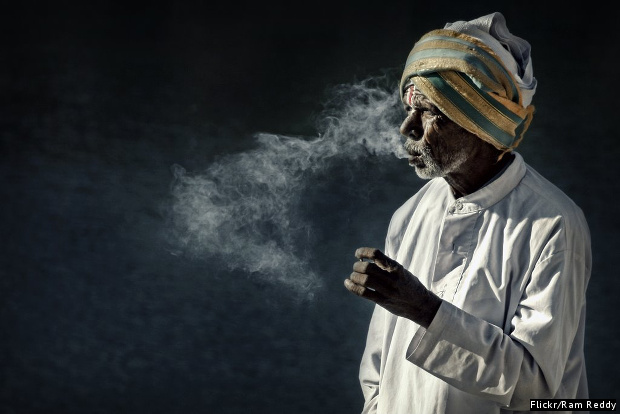 Bidi-smoking-India