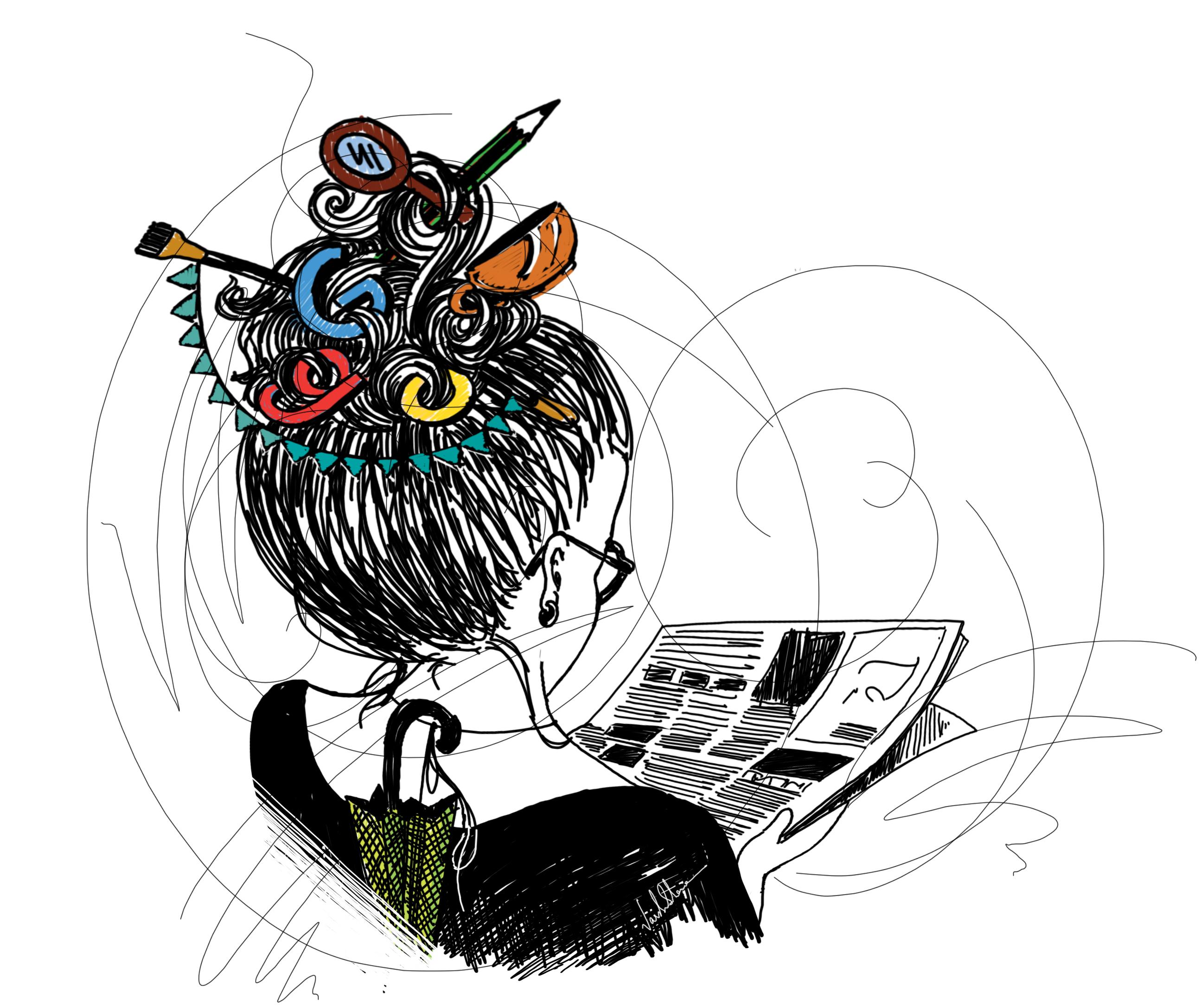 illustration by Varsha