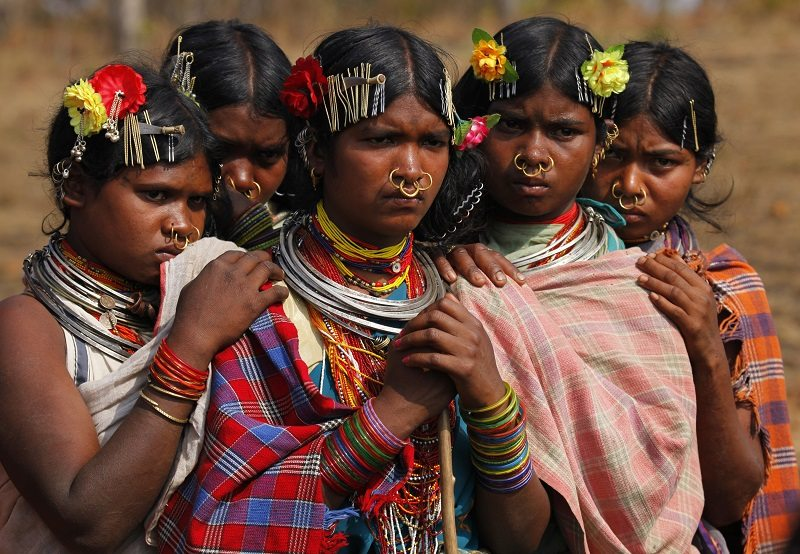Pictures of tribal communities in india