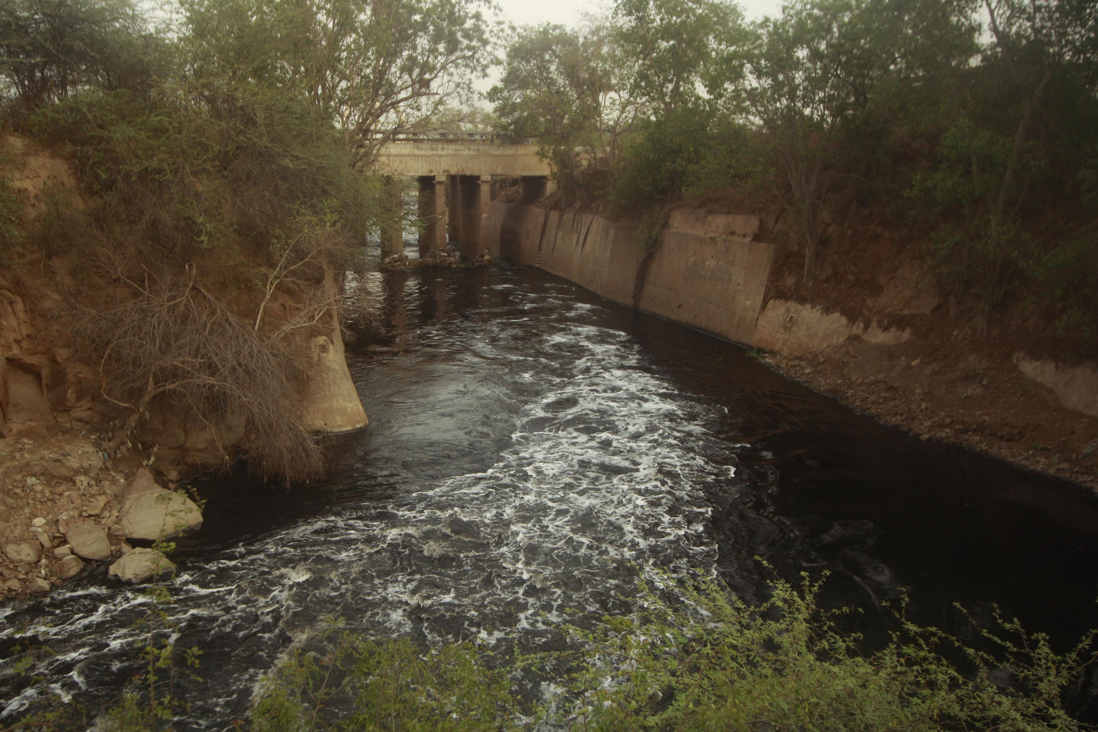 filth in yamuna drain