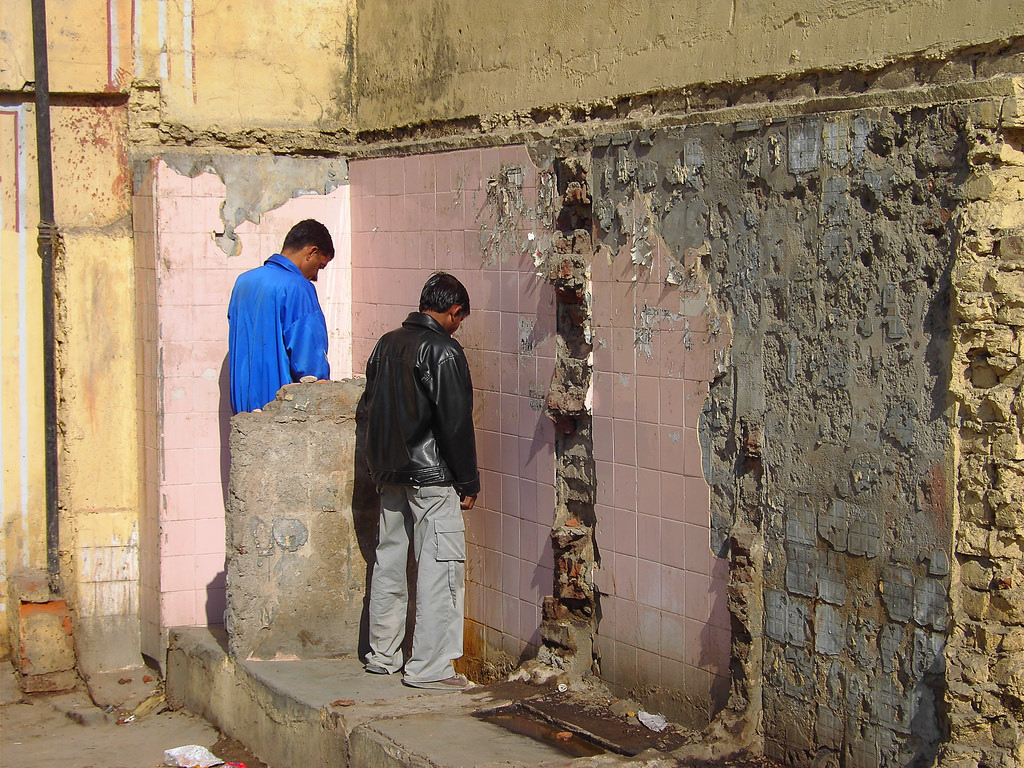public urination india
