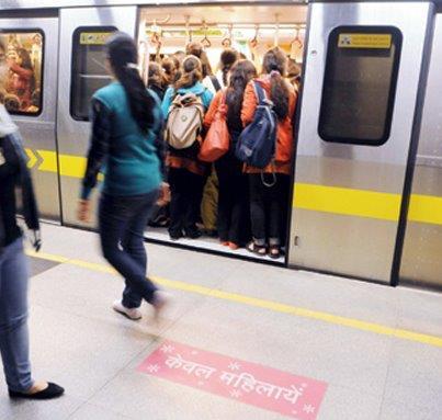 women in metro