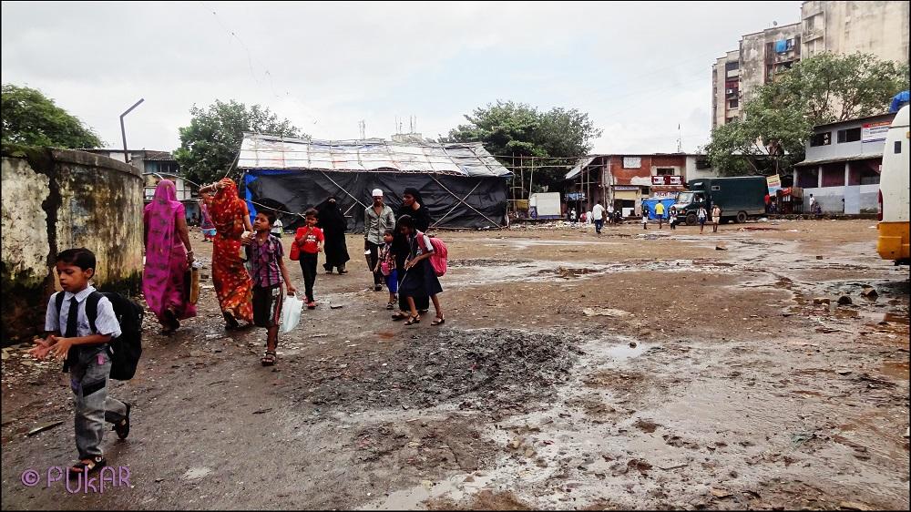 2012: Ganesh Vidya Mandir school ground