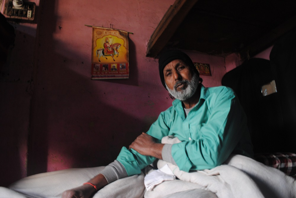 Dilip Pradhan, traditional puppeteer