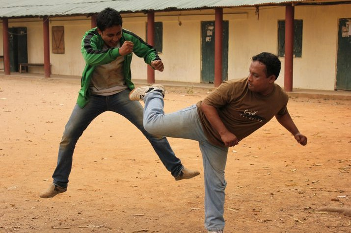 Scene from Local Kung Fu