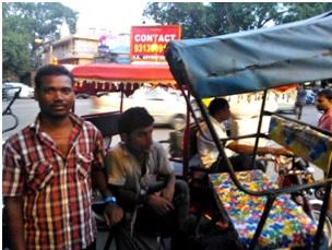 Gobind, a rickshaw-wallah