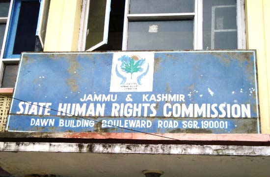 SHRC, Jammu and Kashmir