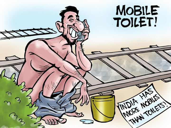 Mobile Toilets in India
