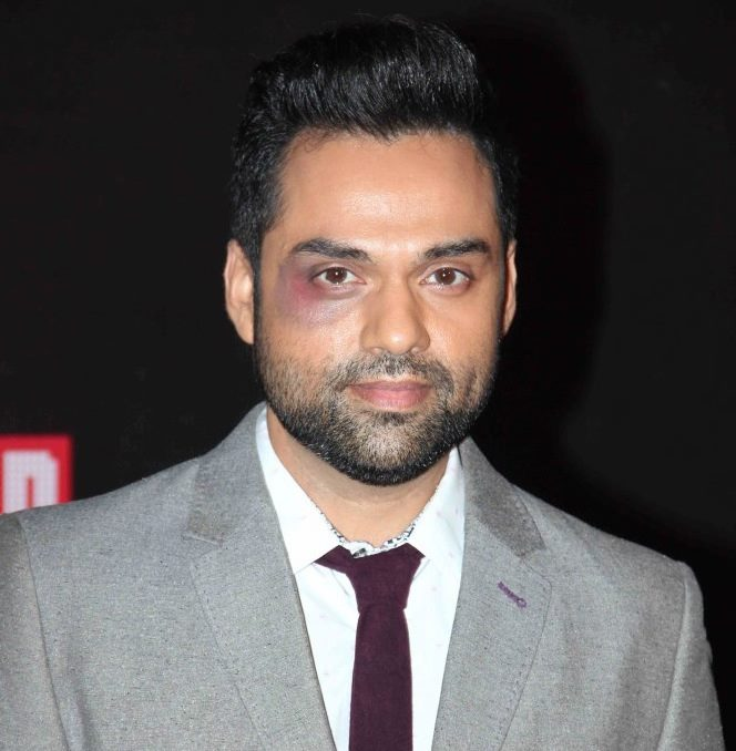 Abhay Deol Black Eye
