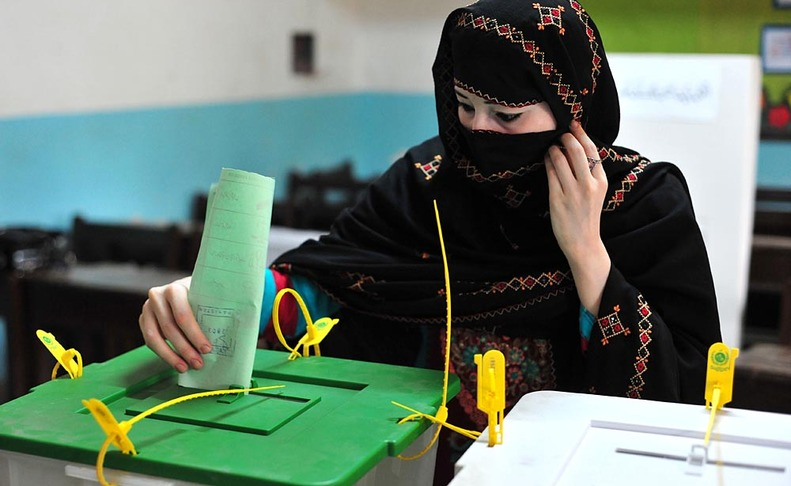 voting in pakistan