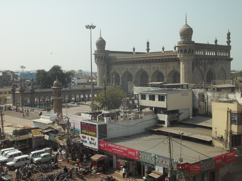 Makkah maszid from charminar