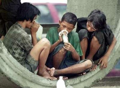 drug abuse by street-kids