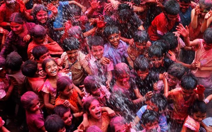 Holi in Ahmedabad