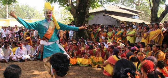 Folk Holi in Purulia