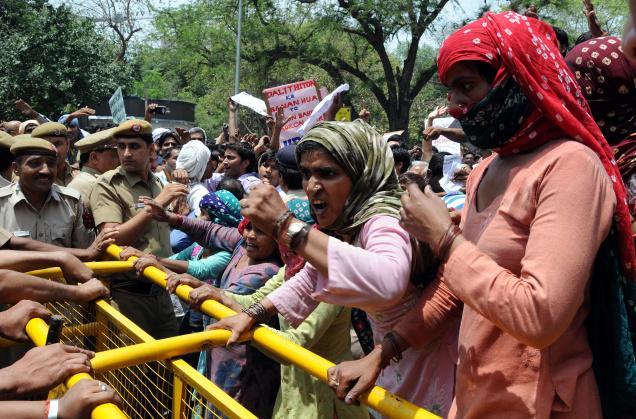 bhagana protest