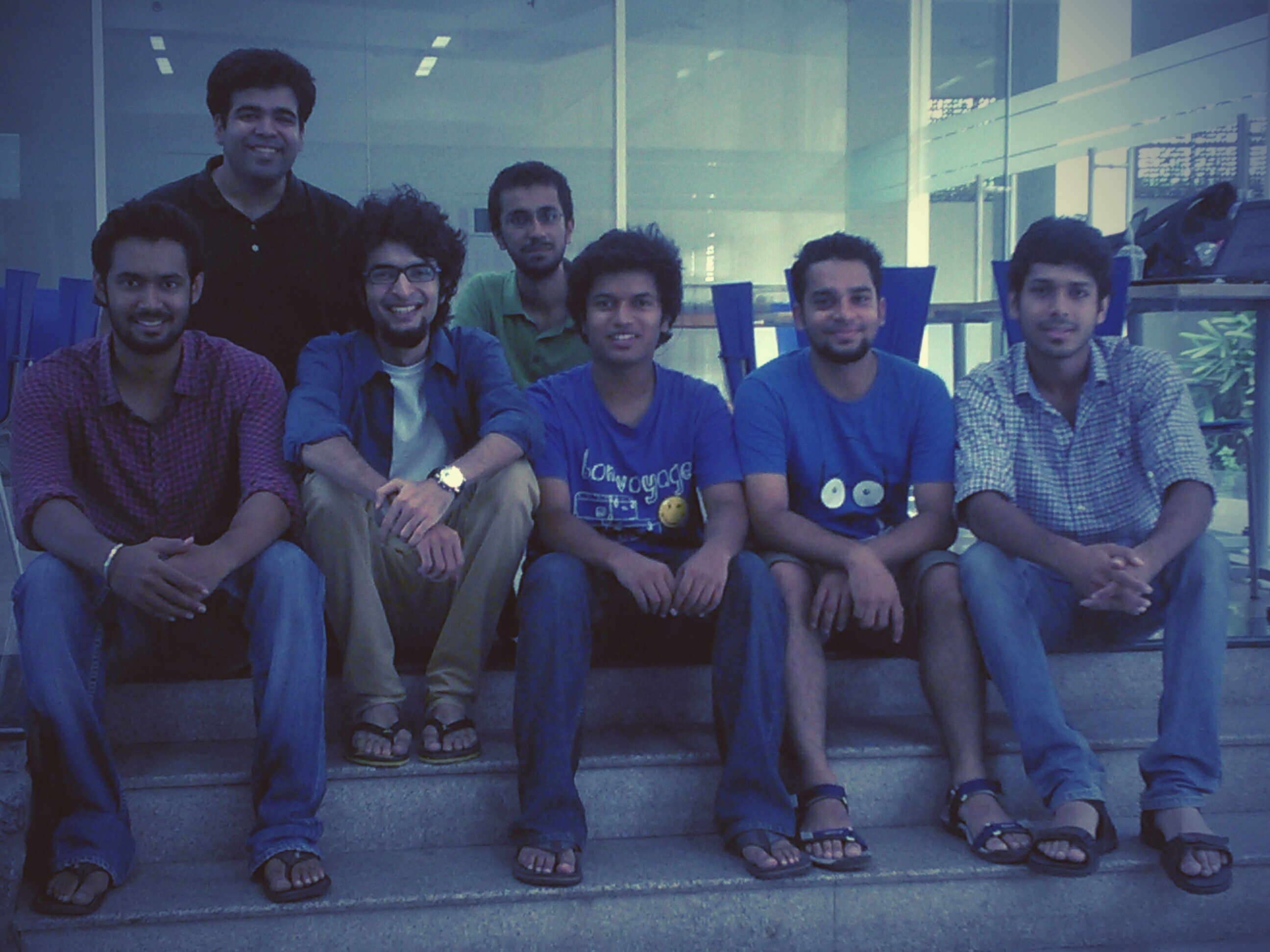 The team behind Meri Awaaz.