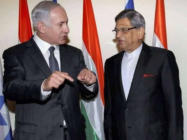 Benjuamin Netanyahu  S.M. Krishna