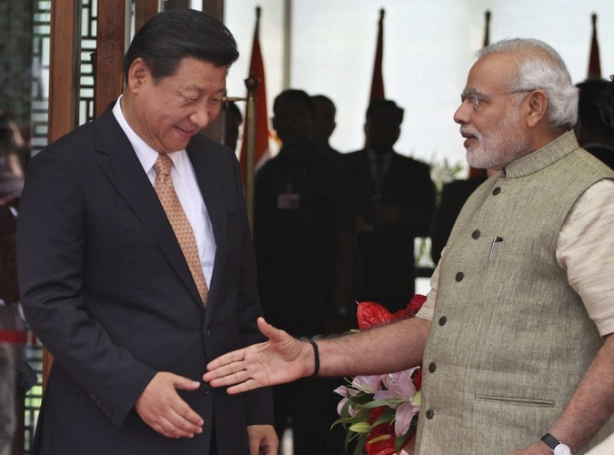 Chinese president in India