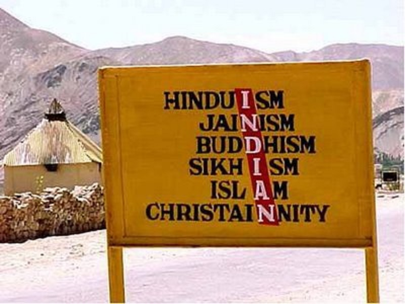 how the idea of one religion one language and one culture is  secularism in