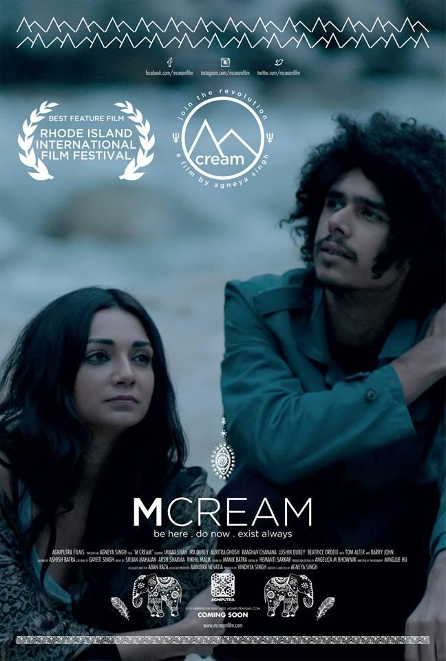 m cream poster