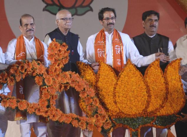 BJP-Shiv Sena split