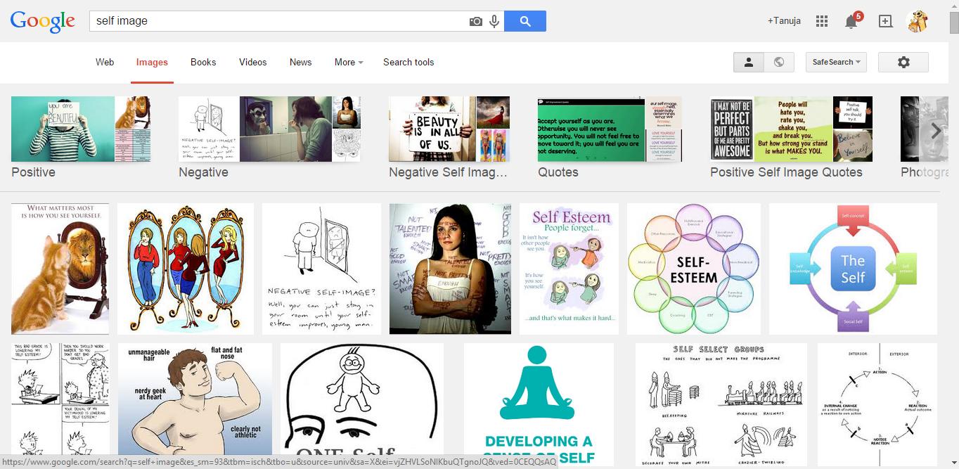 google self image