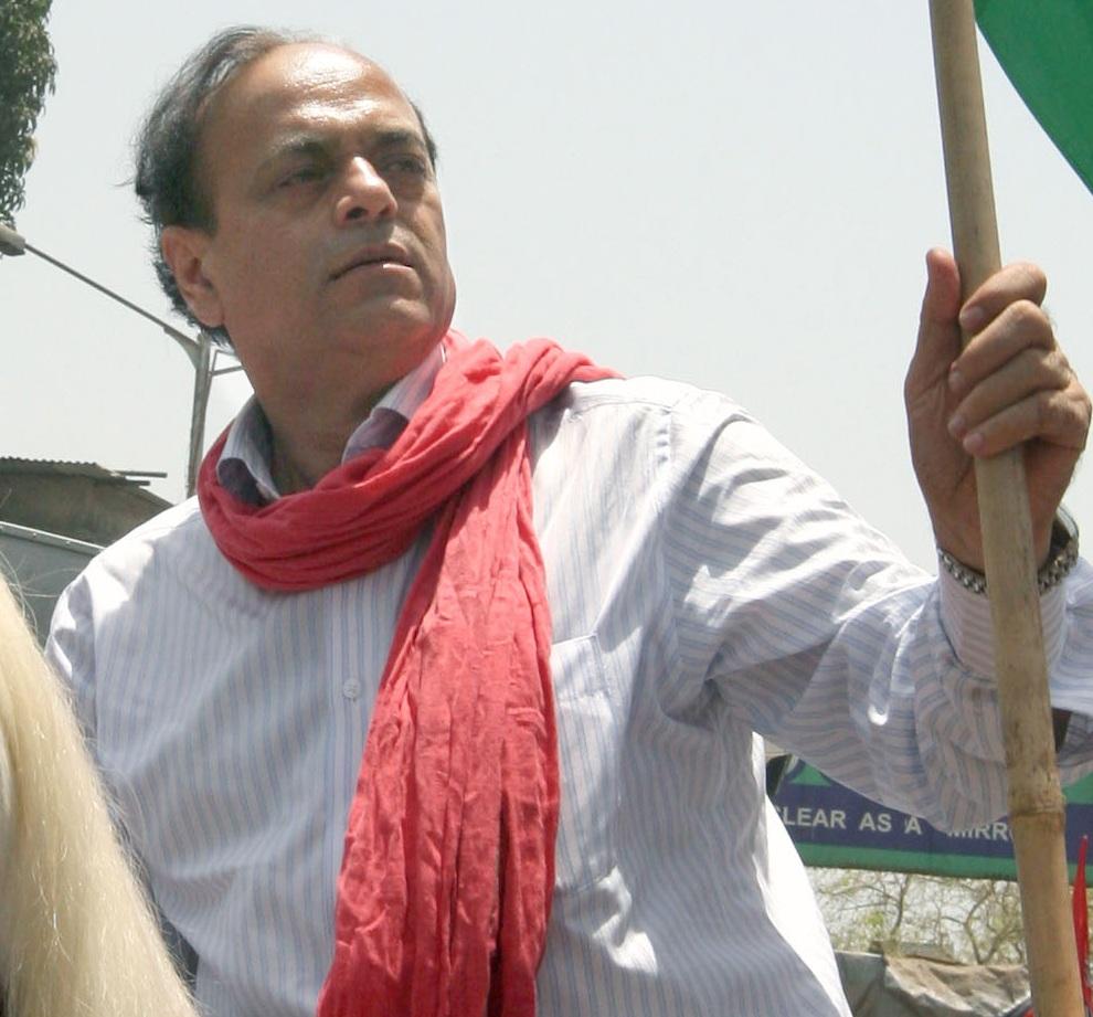 Abu Asim Azmi of Samajwadi Party
