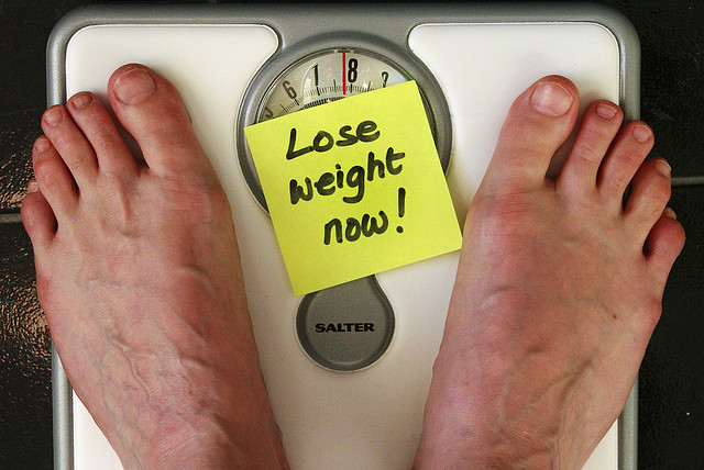 Constant pressure to lose weight.