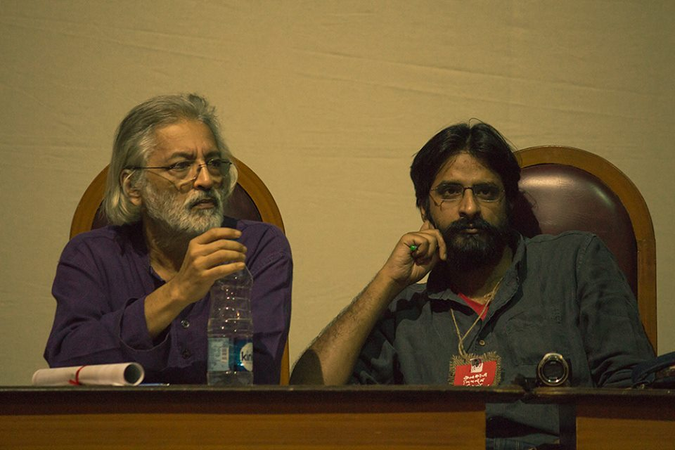 Panelists at 'Faces of Fascism'.