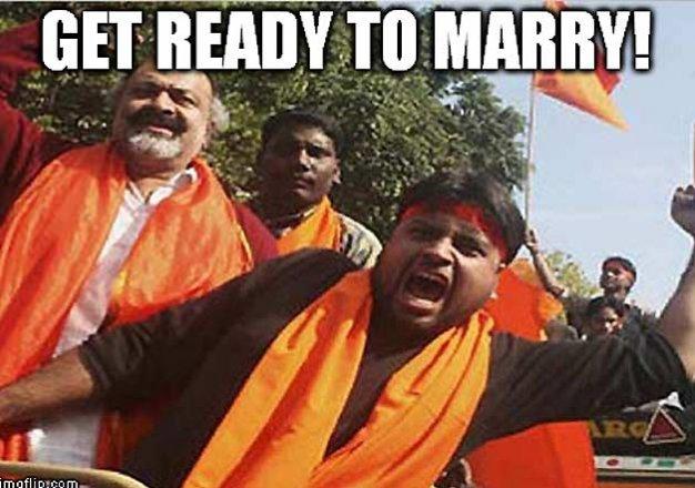 Picture Credits: SHUDDH DESI ROMANCE: Hindu Mahasabha Style!