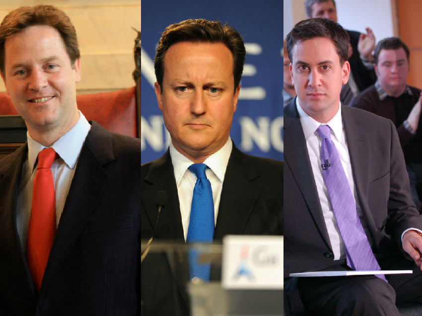 uk election collage