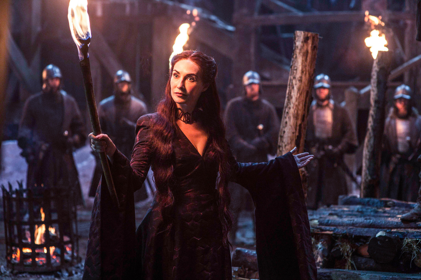 Melisandre, Game of Thrones. © Home Box Office, Inc.