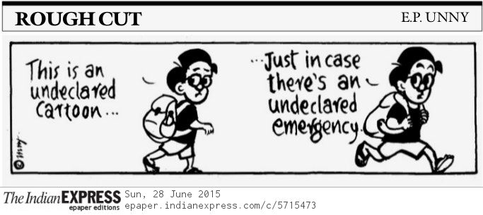 indian express e p unny emergency