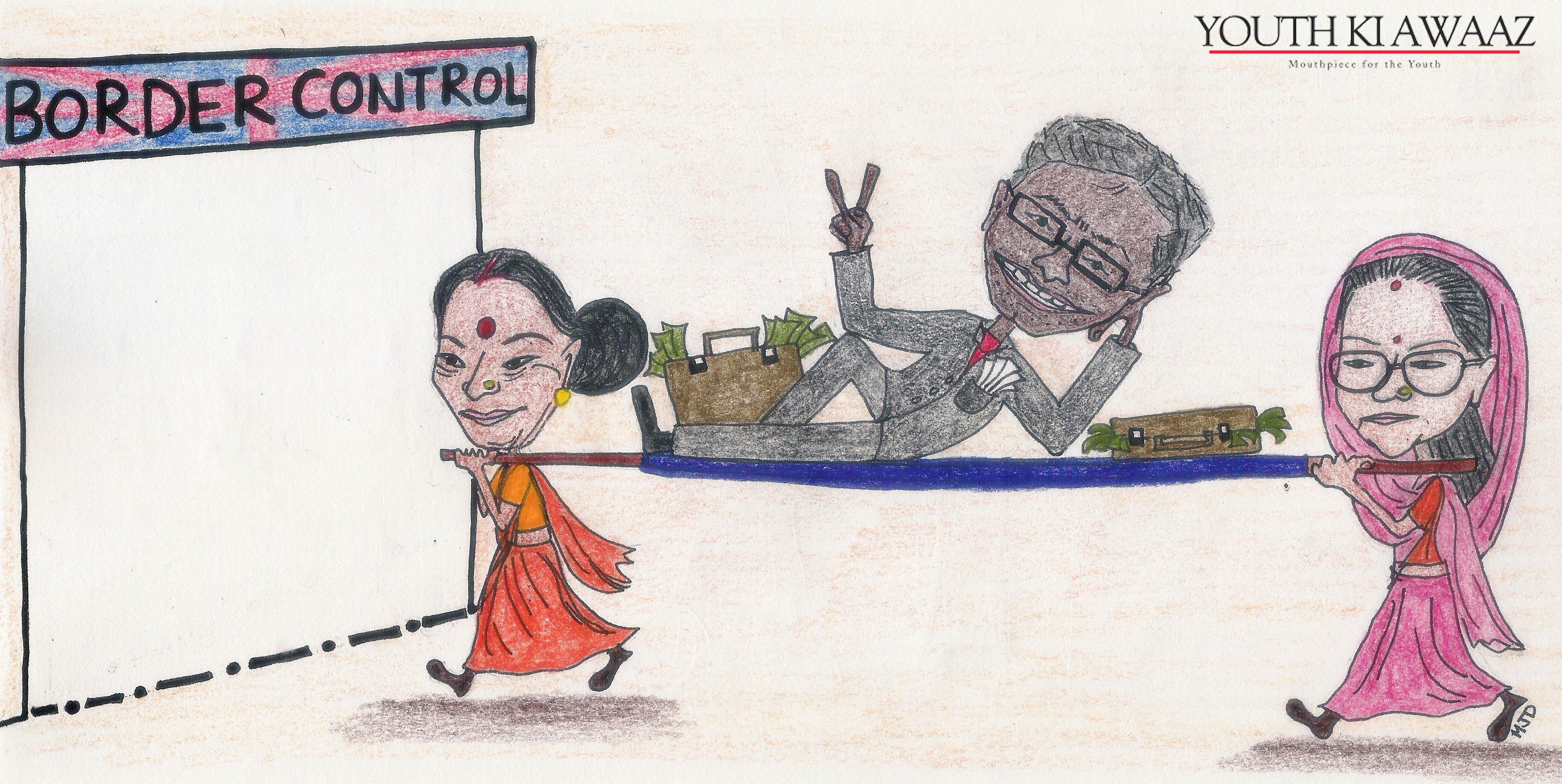 maitri dore lalit modi sushma swaraj vasundhara raje