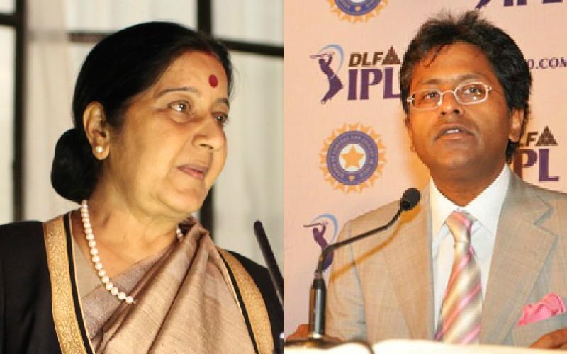 sushma swaraj lalit modi