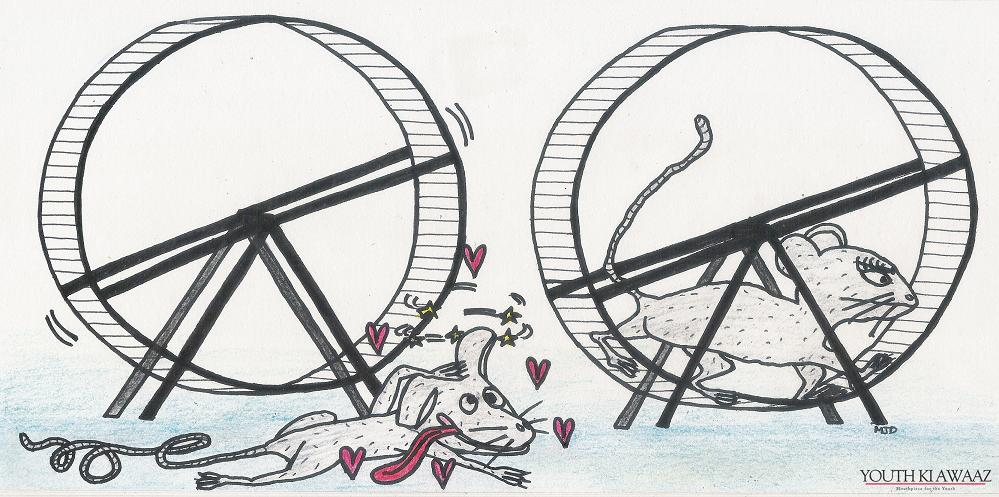 maitri rat illustration