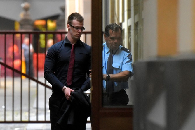 Thomas Hemming murdered two people in 2014 just to know what it felt like to kill. Tracey Nearmy/AAP Image