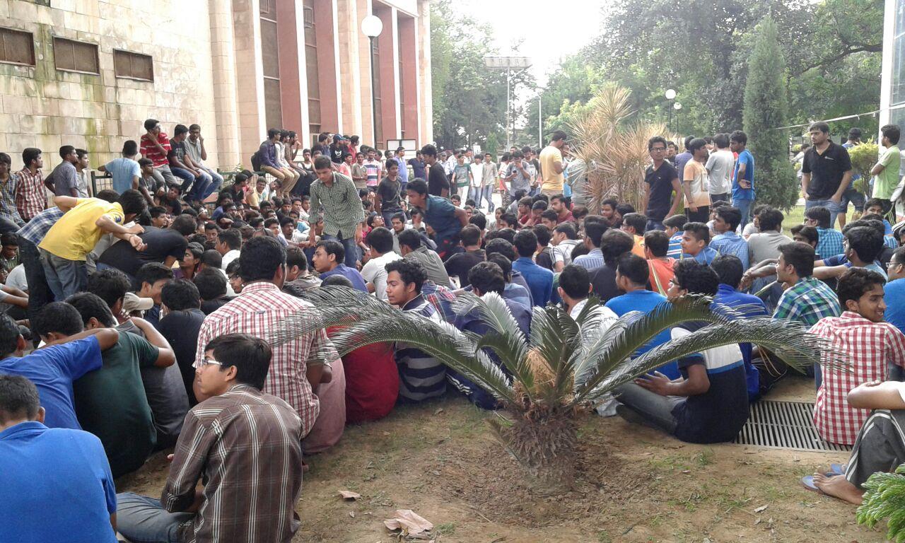 iit roorkee student protest 5