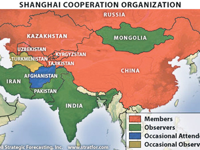 Shanghai Cooperation Organisation: The Major Consequences Of ... on 2015 map of london, 2015 map of asia, 2015 map of singapore,