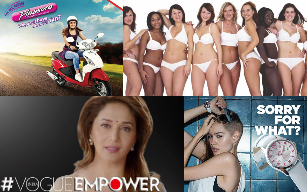 women empowerment marketing campaign