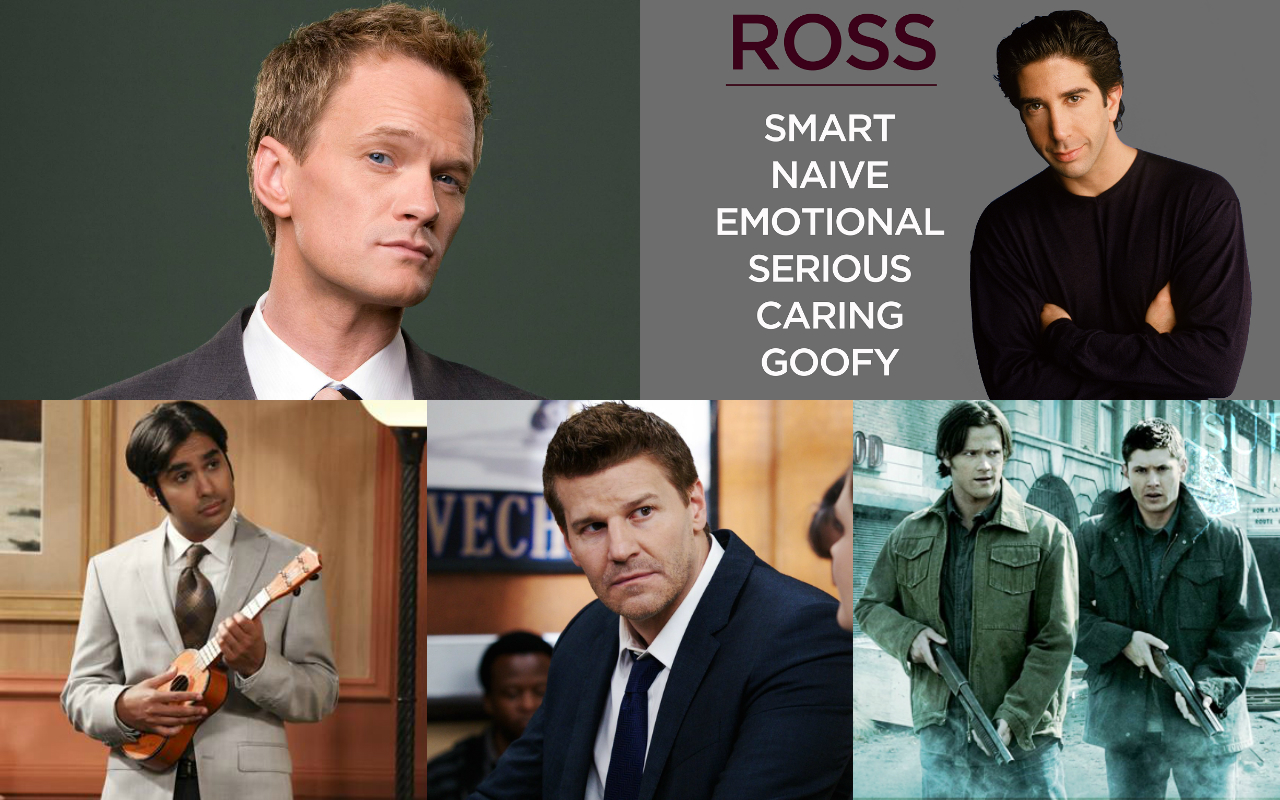 male stereotypes in american tv
