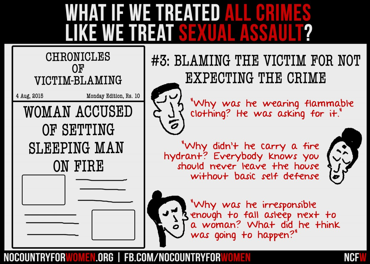 #3 Blaming The Victim For Not Expecting The Crime (1)