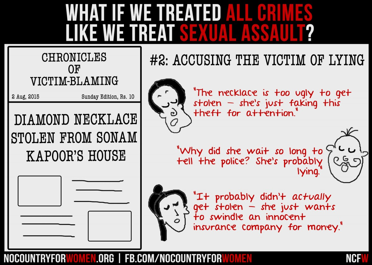 #2 Accusing The Victim of Lying
