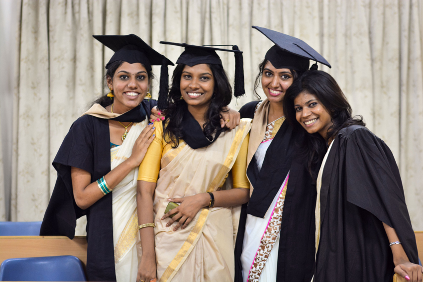 college girls convocation